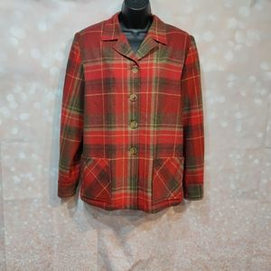 Pendelton Classic 49er Jacket Plaid Virgin Wool